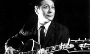 Guitar man … Scotty Moore.
