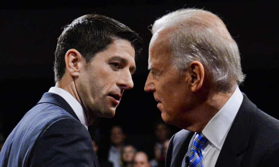 Joe Biden debated Paul Ryan in 2012.