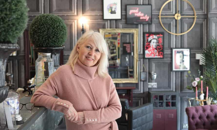 Dennie Smith, owner of Croydon's Vintage 62 hair salon, which is opening on Monday.