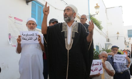 Islamists have been protesting against the gender equality plans declared by Tunisian president Baji Caid Sibsi on the National Day of Tunisian Women on August 25