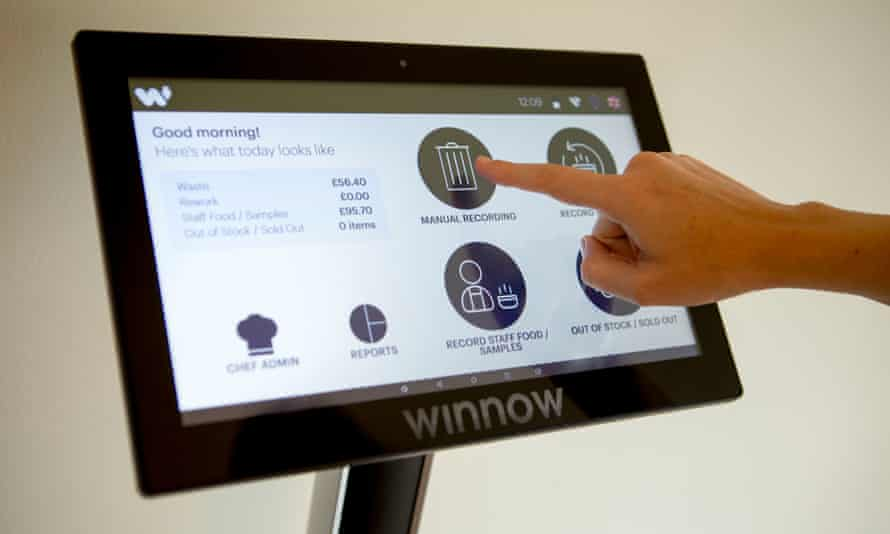 The smart tech system tackles food waste in the restaurant industry.