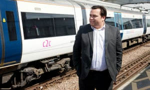 James Savill, commuter campaigner.