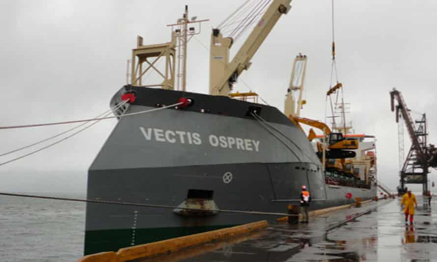 The British cargo ship MT Vectis Osprey was the target of an attempted hijacking off the coast of Nigeria.