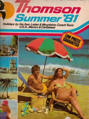 1981 Thomson summer brochure