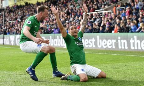 Anthony Knockaert's screamer gives Brighton victory at Crystal Palace