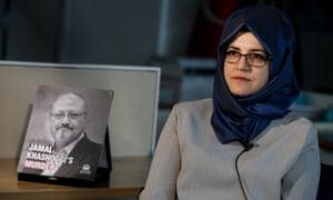 Hatice Cengiz, fiancee of the murdered Saudi Arabian journalist Jamal Khashoggi