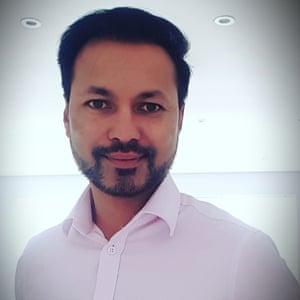 Satish Pakki, a Berkshire parent