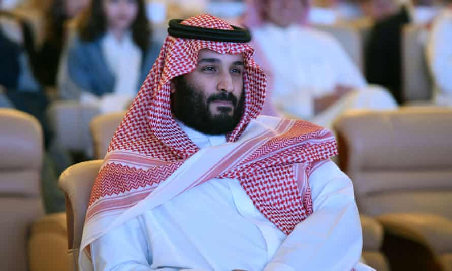Saudi Arabia's Crown Prince Mohammed bin Salman pictured at the 2017 Future Investment Initiative (FII) conference in Riyadh.