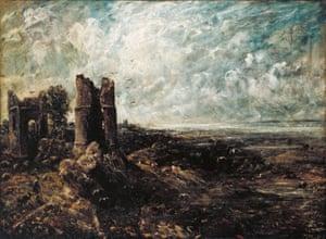 John Constable Sketch for 'Hadleigh Castle' c.1828–9
