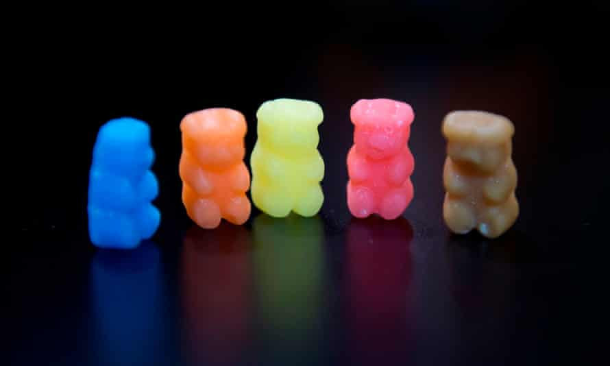 Offensive bears? Ositos & co's alcohol-infused sweets.
