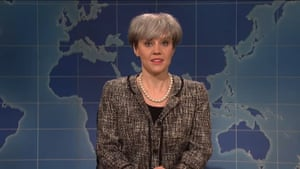 Kate McKinnon as Theresa May on Saturday Night Live