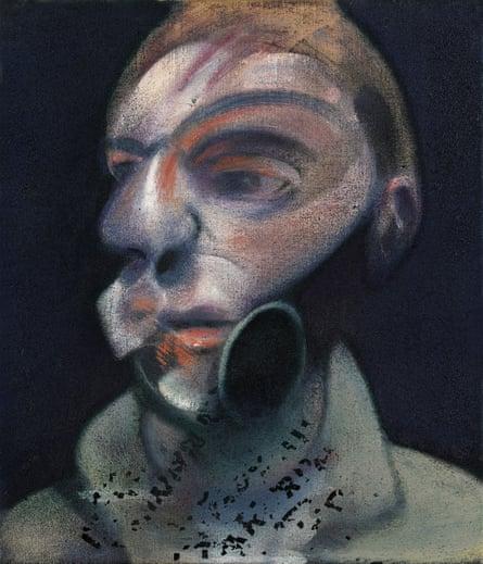 Francis Bacon self-portrait