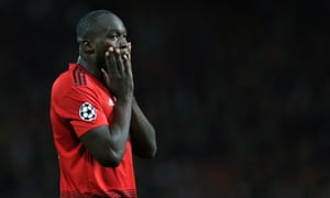 Romelu Lukaku did not have a single shot for Manchester United against Liverpool.