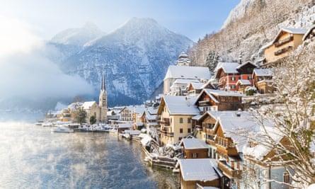 The idyllic village of Hallstatt, Austria