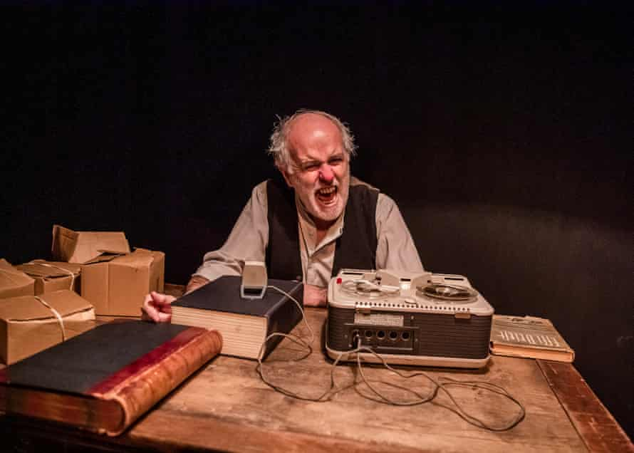 Krapp's Last Tape, part of a Beckett triple bill at the Jermyn Street theatre, for which Pappenheim devised the sound design.