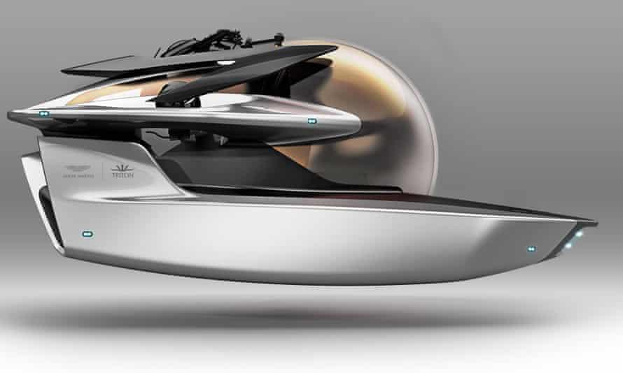 Aston Martin Project Neptune submersible