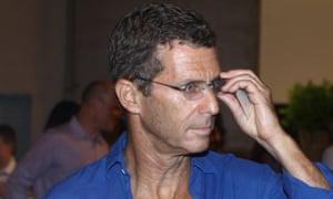 Israeli billionaire Beny Steinmetz at a business event in Tel Aviv in 2010.