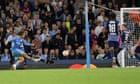 Jack Grealish settles Manchester City nerves in nine-goal Leipzig thriller