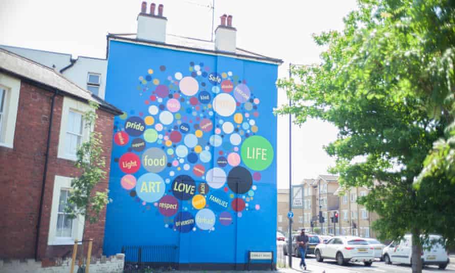 A mural in Brent