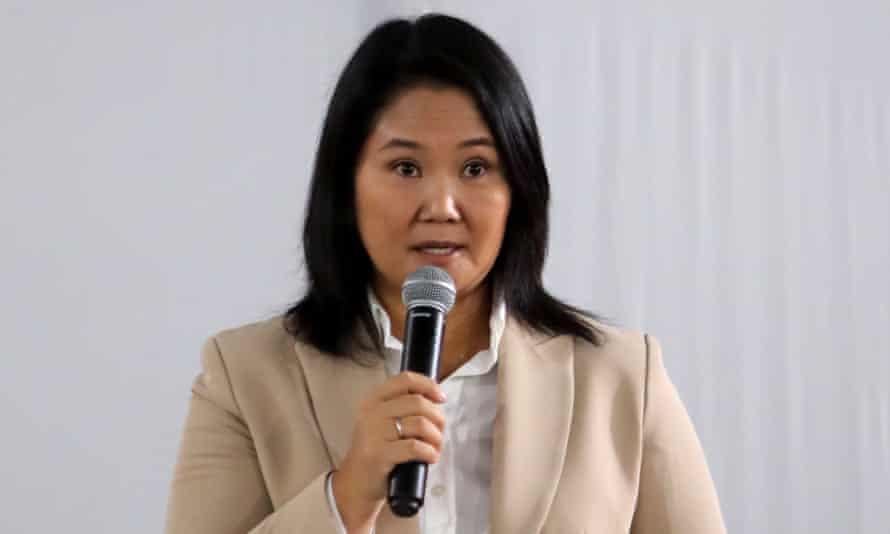 Candidatul conservator peruan Peru, Keiko Fujimori, a fost respins după pledoariile sale de a schimba rezultatele alegerilor de luni.