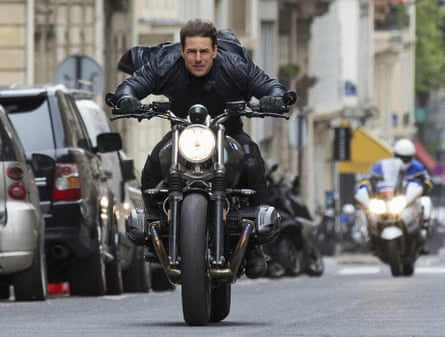 Do hold your breath ... Tom Cruise in Mission: Impossible - Fallout.