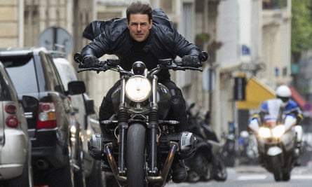 Tom Cruise in Mission: Impossible – Fallout, the sixth film in the franchise.