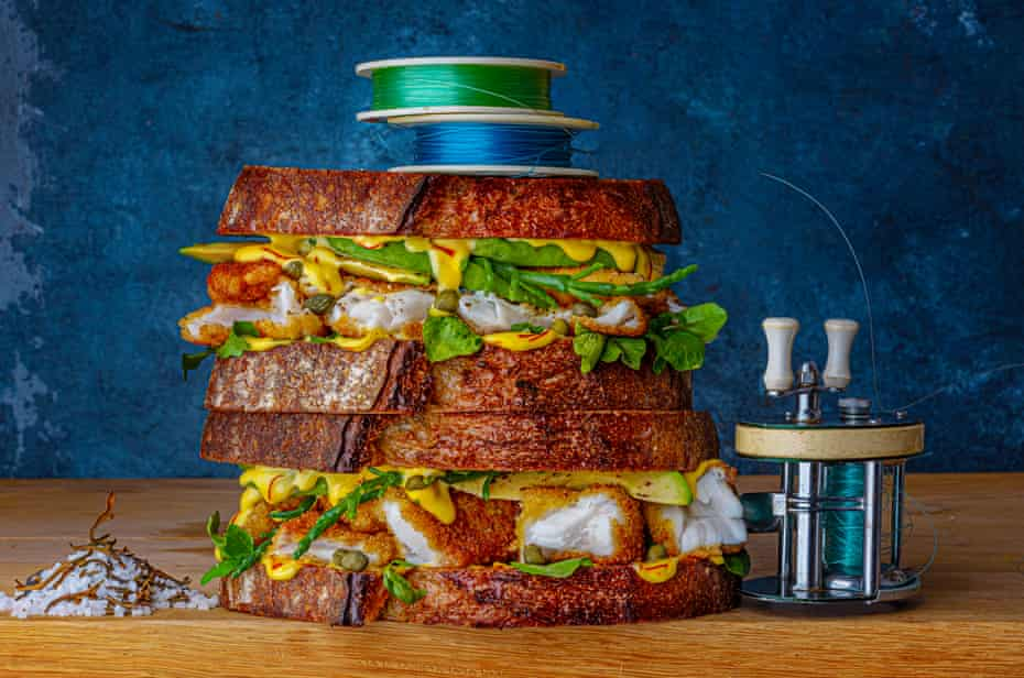 The ultimate fish finger butty from Jonathan Williams at Cafe Mô