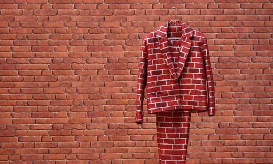 Turner prize nominee Anthea Hamilton's Brick Suit (2010)