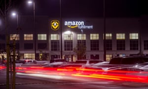 An Amazon Fulfillment Center, like this one in Tracy, California, is slated to open in Schodack, New York by the end of 2019.