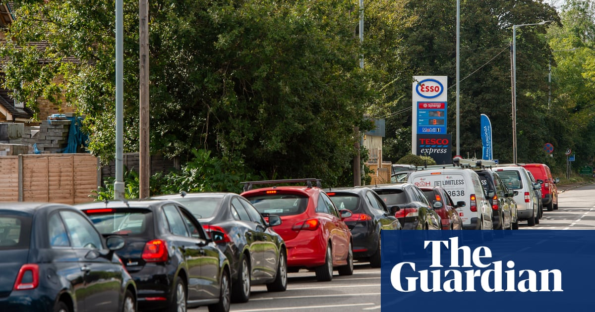 Boris Johnson has ordered the army to remain on standby to help fuel reach petrol stations hit by panic buying, as Keir Starmer and businesses called