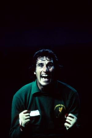 Liverpool took off Dalglish and replaced him with midfielder Jimmy Case in an attempt to see out the match. Real went all out to score but were unable to beat Liverpool keeper Ray Clemence and the final whistle confirmed Liverpool's 1-0 win and a third European Cup