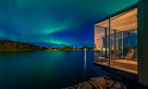 'The northern lights often come out to play over Manshausen'