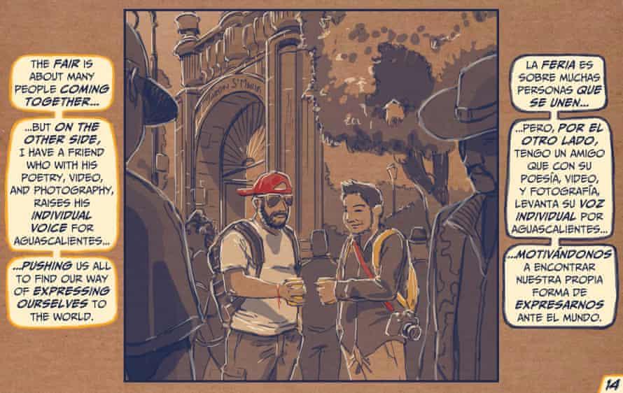 Aguascalientes cartoon