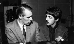 George Martin and Paul McCartney in 1966