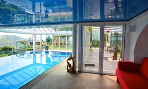 Indoor pool at The Arches, Port Erin, Isle of Man.
