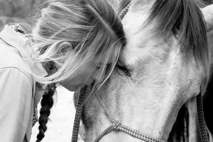 Le Gouvello with Cooper, a five-year-old buckskin.