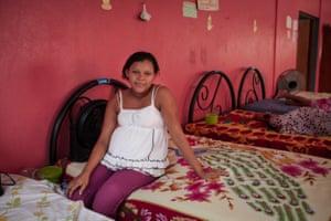 Chadla Suyhidy Morales Benjamio, 16, in Bilwi, Nicaragua at the Casa Materna