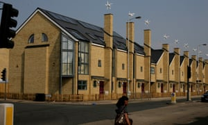 New council houses in Croydon, south London.