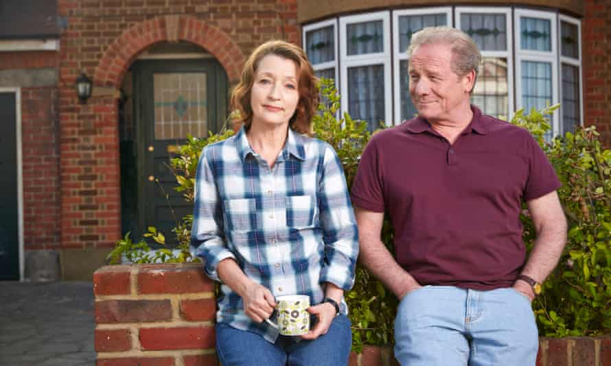 'It's Butterflies for yet another generation, and as delightful': Lesley Manville and Peter Mullan in Mum.