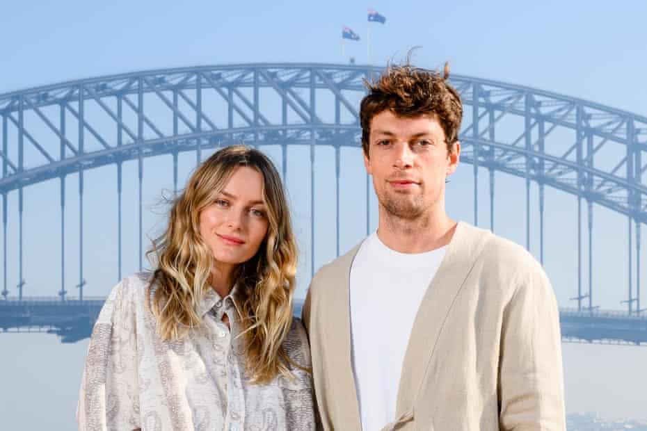 Commas, Richard and Emma Jarman. Fashion week Sydney 2021.