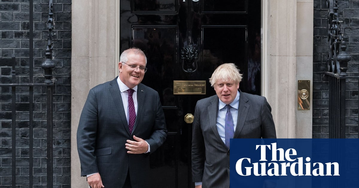 UK-Australia post-Brexit trade deal agreed in broad terms