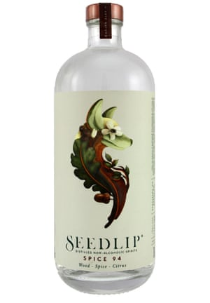 A bottle of Seedlip