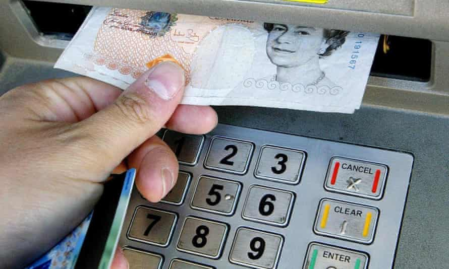 Shoppers took out a further £238m in cash on Monday, making it the busiest day for withdrawals since 16 March.
