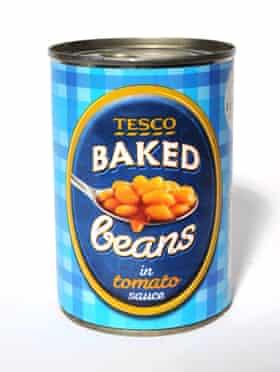 Tesco baked beans