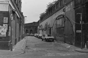 Grimsby Street off Brick lane 1985