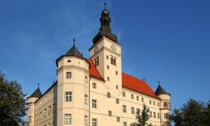The Hartheim euthanasia centre in Alkoven, near Linz, Austria.
