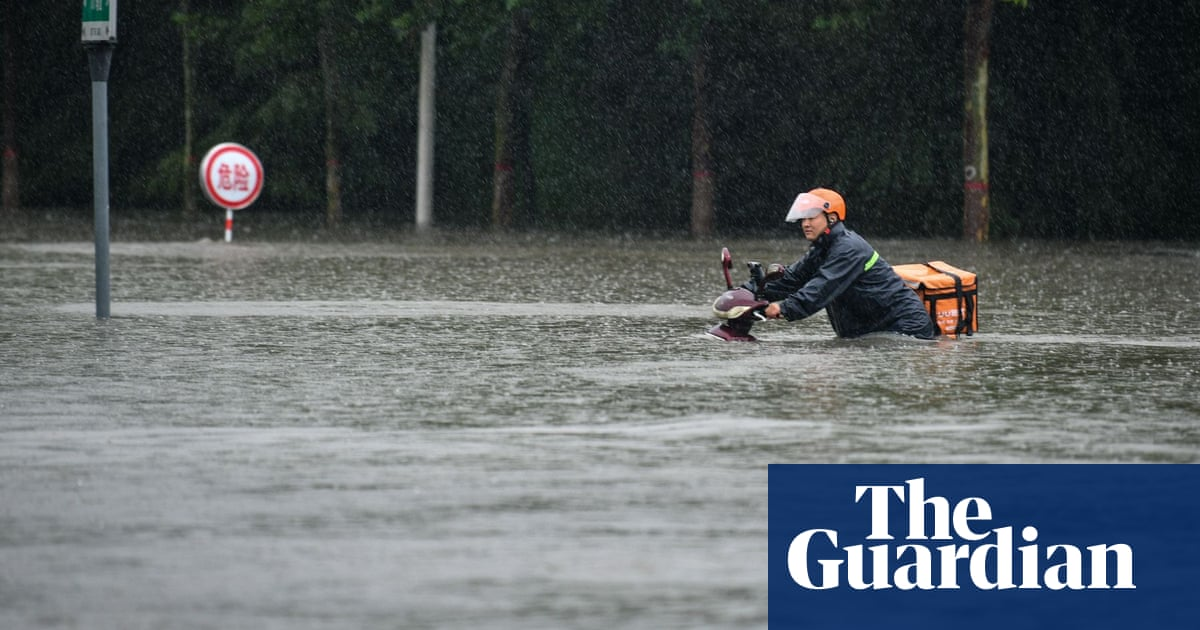 Deadly rains hit central China as subways flood and tens of millions impacted – video