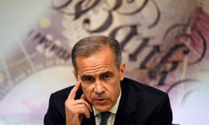 Carney is meeting senior figures in the City to stress the need for a smooth exit from the EU.