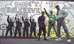 Believe the hype … Public Enemy in 1988.