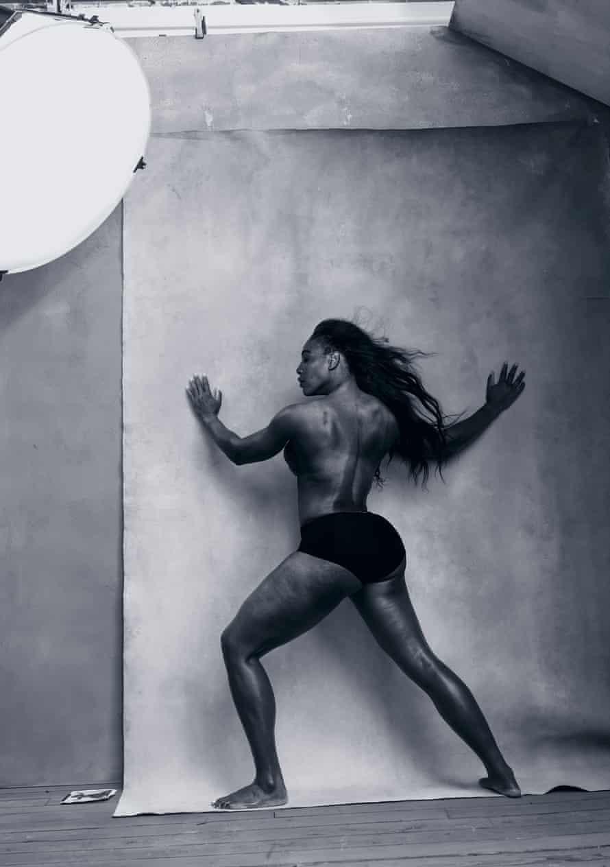 Serena Williams in the 2016 calendar.